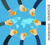 international business visual... | Shutterstock .eps vector #426404218