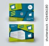 brochure mock up design... | Shutterstock .eps vector #426406180