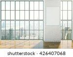 Empty Interior Design With...