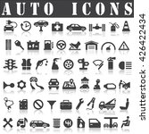 auto icons | Shutterstock .eps vector #426422434