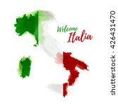 symbol  poster  banner italy.... | Shutterstock .eps vector #426431470