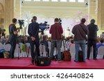 journalists on the press...   Shutterstock . vector #426440824