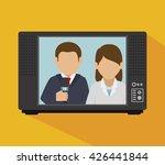 tv news design  | Shutterstock .eps vector #426441844