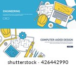 engineering and architecture... | Shutterstock .eps vector #426442990