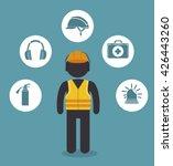 safety equipment design    Shutterstock .eps vector #426443260