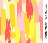 pattern with color hand drawn... | Shutterstock .eps vector #426452863