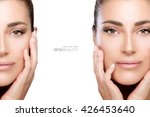 beauty and skincare concept...   Shutterstock . vector #426453640