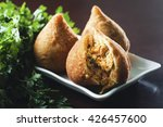 coxinha  brazilian fried... | Shutterstock . vector #426457600