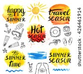 Summer Calligraphic Design...