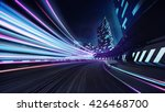 grand city race track with... | Shutterstock . vector #426468700
