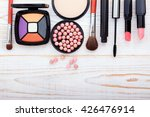 osmetics products on white.... | Shutterstock . vector #426476914