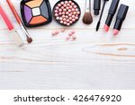 osmetics products on white.... | Shutterstock . vector #426476920