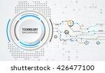 vector digital technology...   Shutterstock .eps vector #426477100