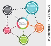 infographic elements on the... | Shutterstock .eps vector #426478108