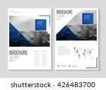 business brochure design or ... | Shutterstock .eps vector #426483700