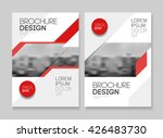 business brochure design.... | Shutterstock .eps vector #426483730