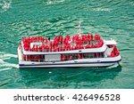 Ferry In The Niagara River. A...