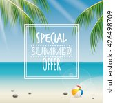 summer sale label | Shutterstock .eps vector #426498709
