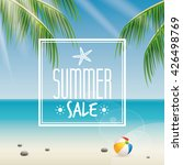 summer sale label | Shutterstock .eps vector #426498769
