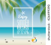 summer sale label | Shutterstock .eps vector #426499390