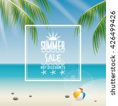 summer sale label | Shutterstock .eps vector #426499426
