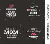 mother day labels | Shutterstock .eps vector #426499840