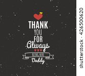 father day label | Shutterstock .eps vector #426500620