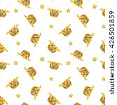 seamless pattern with fancy...
