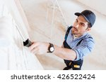 close up portrait of a young... | Shutterstock . vector #426522424