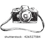 vector illustration of camera... | Shutterstock .eps vector #426527584