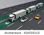 fleet of autonomous hybrid...   Shutterstock . vector #426533113
