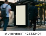 blank outdoor bus advertising... | Shutterstock . vector #426533404
