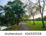 people recreation in beautiful... | Shutterstock . vector #426535528
