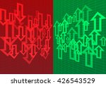 arrow up and down abstract...   Shutterstock .eps vector #426543529