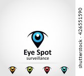 eye location logo icon | Shutterstock .eps vector #426551590