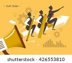 teamwork flat design...   Shutterstock .eps vector #426553810