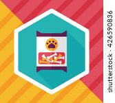 pet dog food package flat icon... | Shutterstock .eps vector #426590836