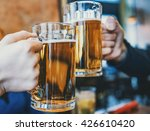 cheers with beers | Shutterstock . vector #426610420