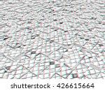 abstract mosaic urban...   Shutterstock . vector #426615664