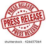 press release. stamp   Shutterstock .eps vector #426657064