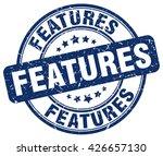 features. stamp | Shutterstock .eps vector #426657130