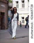 beautiful sensual model lady... | Shutterstock . vector #426665728