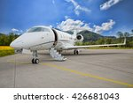 corporate private jet   plane... | Shutterstock . vector #426681043