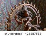 Antique Bronze Shiva Statue On...