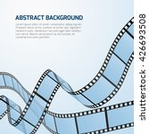 film strip roll vector cinema... | Shutterstock .eps vector #426693508