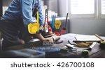 craft creation ideas design art ... | Shutterstock . vector #426700108