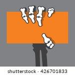 vector flat cartoon bright... | Shutterstock .eps vector #426701833