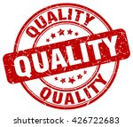quality. stamp | Shutterstock .eps vector #426722683