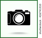photo camera sign icon  vector... | Shutterstock .eps vector #426741310