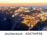 view of the village  oia at... | Shutterstock . vector #426744958